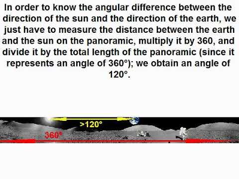 The secret of the photo AS17-137-20957 of Apollo 17