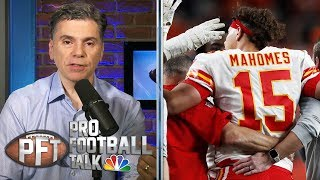 How cautious will Chiefs be with Patrick Mahomes' injury? | Pro Football Talk | NBC Sports