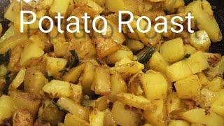 Potato roast recipe | Potato poriyal | Aaloo roast | Urulaikizhangu roast