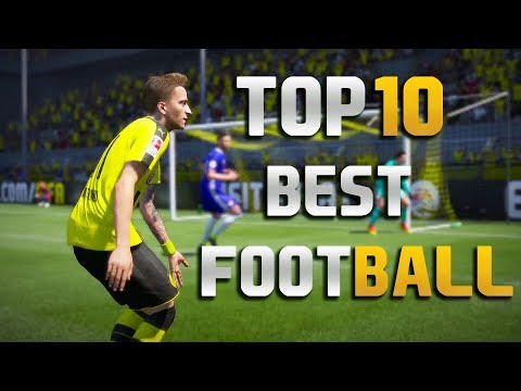 Top 10 Best New Football Games For Android 2017-2018
