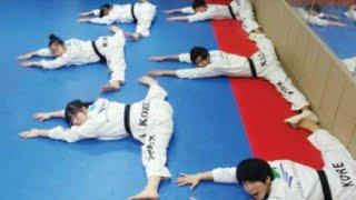 Американская школа тхэквондо сильнейшая и тяжелая тренировка (Taekwondo™)