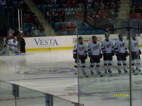 UNB Varsity Reds vs Alberta Golden Bears