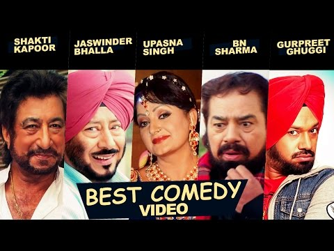 Best Comedy Video | Jukebox - Funny Scenes | Shakti Kapoor, Jaswinder Bhalla, Upasana Singh