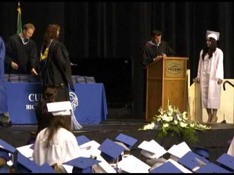 Curtis High School Graduation 2012 Part 2: Presentation of Diplomas