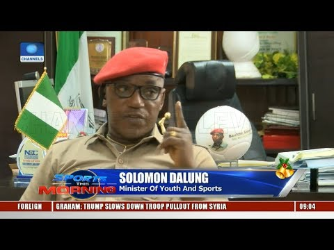 Football In Nigeria: Dalung Explains Recent Issues Pt.1 |Sports This Morning|