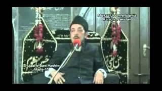 Allama Zameer Akhtar Naqvi (Shujaat-e-Bani Hashim) Majlis-10
