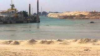 الوطن : فيديو مذهل لقناة السويس الحاليةوالجديدة لن تصدق عبقرية المشهد
