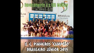 Troféu Tancredo Neves 2015 - Revezamento 4 x 100 Medley Junior II