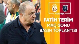 🎙 Teknik direktörümüz Fatih Terim'in maç sonu açıklamaları | #GSvBŞK