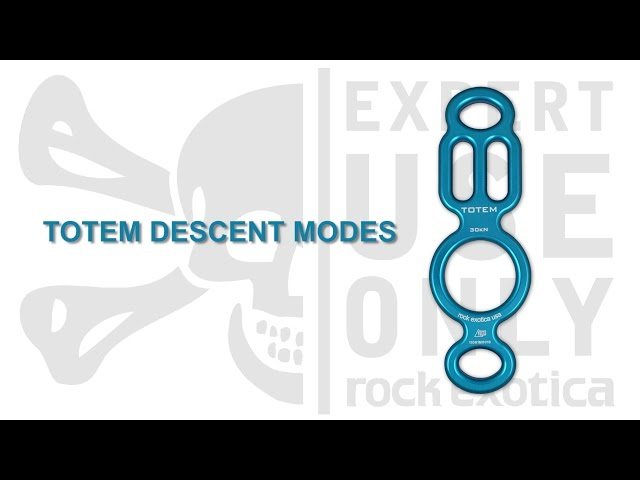 Totem Rappel Device - Descent Modes