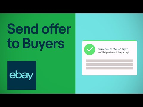 Send An Offer To Buyers On Ebay Seller Hub Ebay For Business Uk Youtube