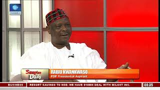 Kwankwaso Highlights How He Will Revamp Nigeria's Economy If Elected President |Sunrise Daily|