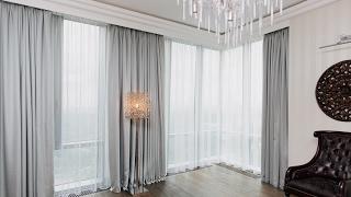 Дизайн штор для зала 2017. 30 идей