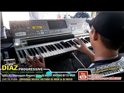 Alusi Au - Lagu Batak Versi Manual Music Keyboard KN7000 DJ MDR DIAZ PROGRESSIVE 2018