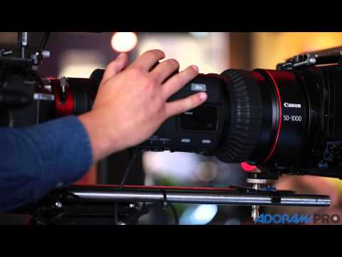NAB 2015 First Look: Canon C300 Mark II & Cine-Servo 50-1000mm Lens