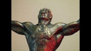 Скульптура тяжелоатлета (уроки скульптуры и рисунка)