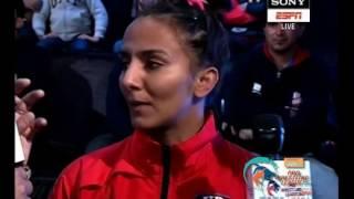 Pro Wrestling League 2017: Geeta Phogat of UP Dangal 4th Jan  Haryana Hammers Vs UP Dangal