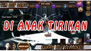 Seven Knights - Def Death on ARENA I BIKIN RUSAK JIWA SAMPAI DNA