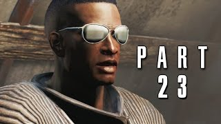 Fallout 4 Walkthrough Gameplay Part 23 - Synth Retention PS4
