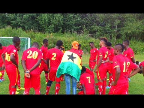 Lizzy Football Club from Ghana at Gothia Cup