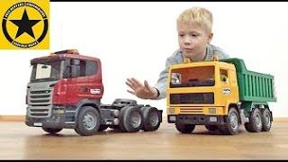 Bruder Toy TRUCKS for Kids SCANIA 113M old School vs. Bruder Scania R-Series