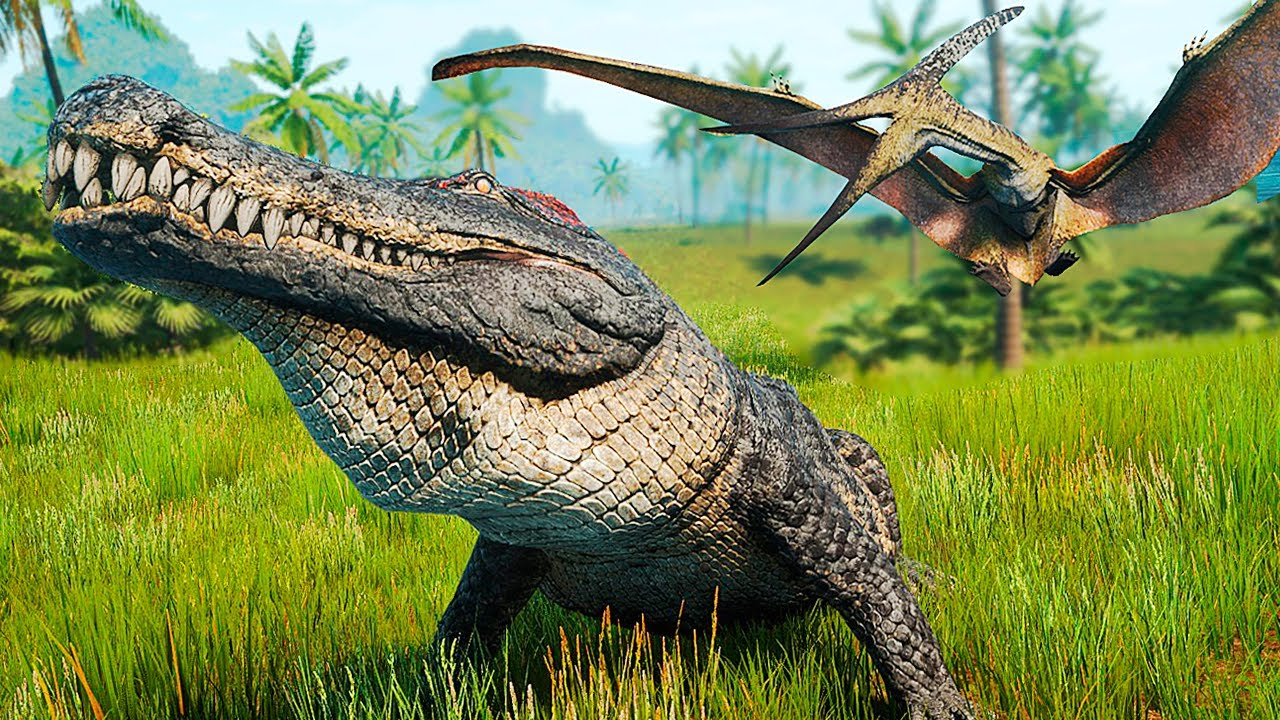 Download Deinosuchus, o Rei das Armadilhas! Cachoeira dos Carnotauros + Bebê Utah | The Isle Evrima | (PT/BR)