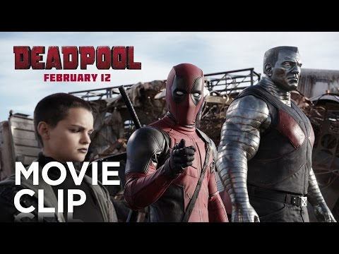 Watch Hilarious New Deadpool Clip Featuring Colossus and Angel Dust