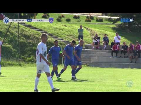 Izvještaj: FK Željezničar - FK Krupa 1:0 (FULL HD)