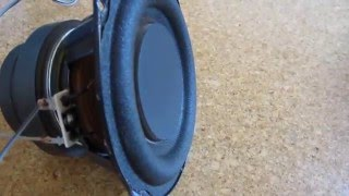 Sony Subwoofer Extreme Excursion!