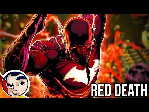 "Batman Red Death ""Flash & Batman Merged"" - Rebirth Complete Story"