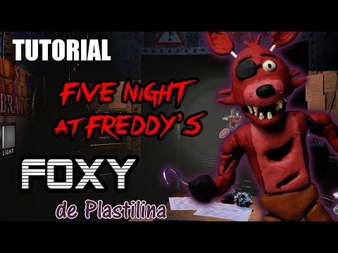 Tutorial Foxy (Five Nights at Freddy's) de Plastilina / Clay / Porcelana fria / Cold Porcelain