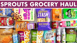 Sprouts Farmers Market Haul | BEST Sprouts Products