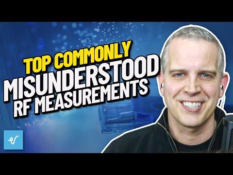Top Commonly Misunderstood RF Measurements