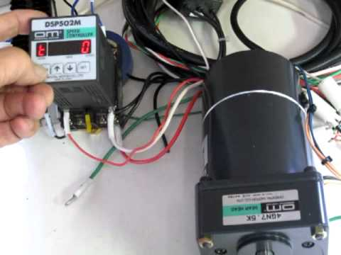 Oriental motor dsp502m speed controller speed control for Lm317 motor speed control