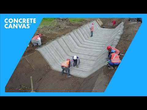 Canal Bellavista Channel Lining Works in Chile