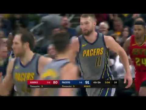 Indiana Pacers Highlights vs. Atlanta Hawks - Nov. 17, 2018