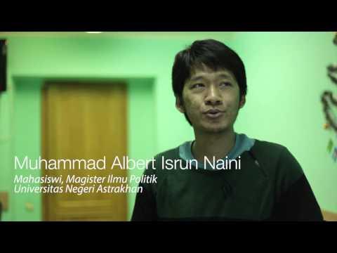 Astrakhan State University - Perkenalan Oleh Siswa Indonesia