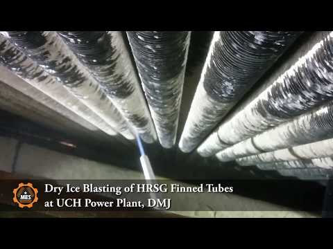 Dry Ice Blasting of HRSG Finned Tubes at Uch Power Plant