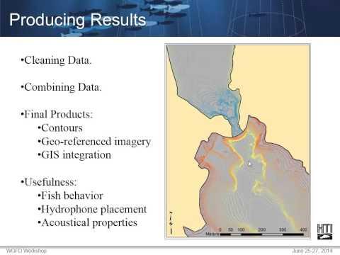 Hydrographic Survey Basics Producing Bathymetric Profiles from Echo Sounder Data
