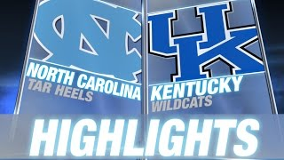 North Carolina vs Kentucky | 2014-15 ACC Men's Basketball Highlights