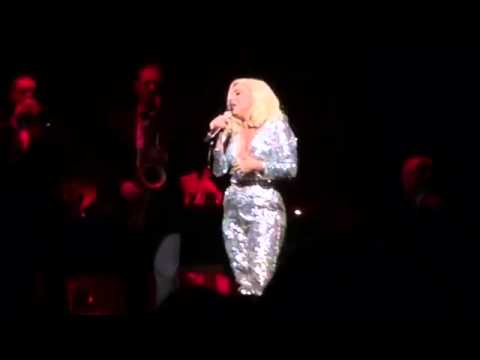 Lady Gaga's voice is so strong she doesn't even need a mic!