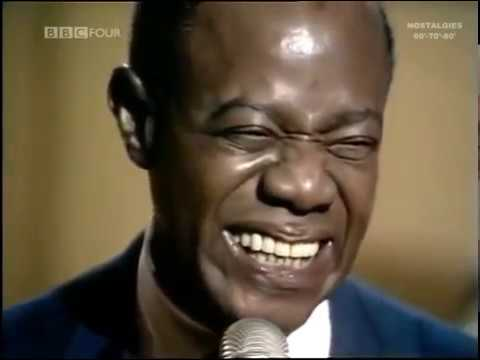 """Louis Armstrong """"What A Wonderful World""""  Live, 1967"""