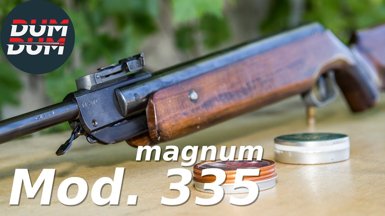 Opis Vazdušne Puške Anschütz Mod 335 Magnum Gun Review Eng Subs