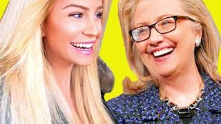 MEETING HILLARY CLINTON & BEING A TOURIST | Gigi