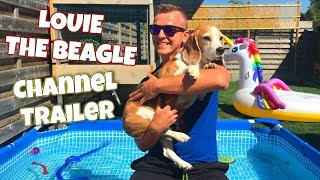 🌟❤CHANNEL TRAILER❤🌟 | LOUIE & MARIE THE BEAGLES