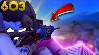 BEST Sniping Spot!! | Overwatch Daily Moments Ep.603 (Funny and Random Moments)