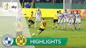 Sportfreunde Lotte - Borussia Dortmund 0:3 | Highlights DFB-Pokal 2016/17 - Viertelfinale