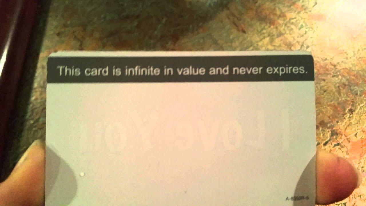 fake gift card youtube