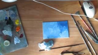 Изображение капли воды масляными красками(ускоренное видео)(, 2016-01-27T08:52:04.000Z)