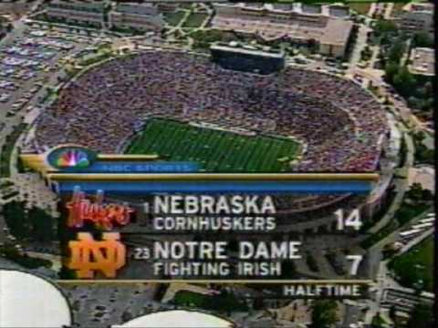 2000: Nebraska- 27 Notre Dame- 24 (OT)